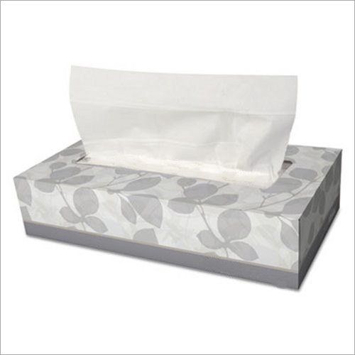 White Facial Tissue Paper