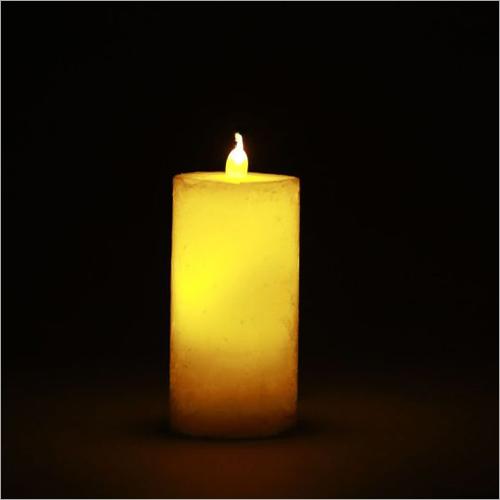 Fiery Ivory LED Candle