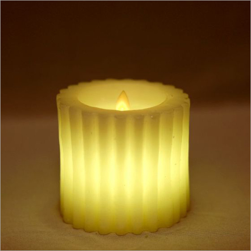 Ribbed Candle
