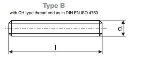 DIN 976 TYPE 1- B