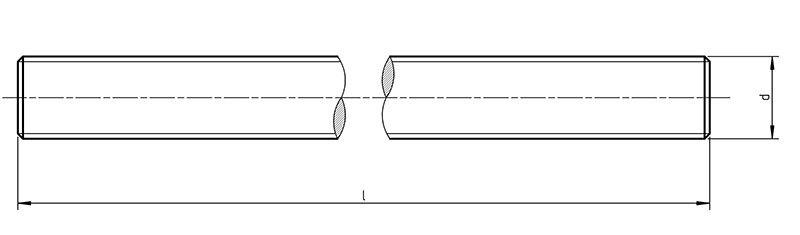 DIN 976 - Metric threaded Rod