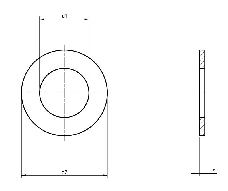 DIN 1441 Flat Washer For Clevis Pin