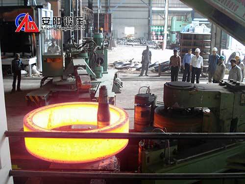 Anyang ring rolling mill large horizontal ring rolling mill for sale