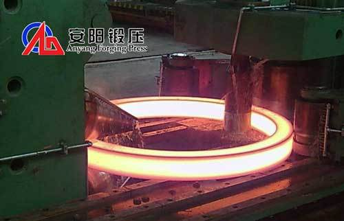 Steel Ring Roller Horizontal Ring Roller Machine Manufacturer