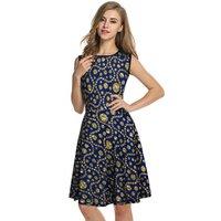 Western Printed Dress