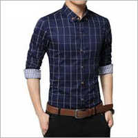 Check Men's Shirt