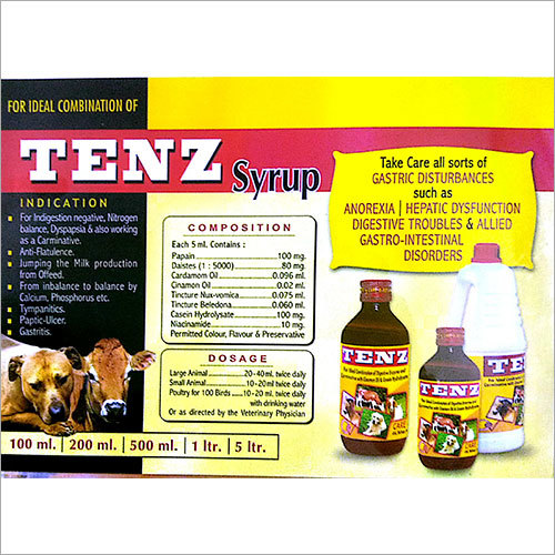 Veterinary Tenz Syrup