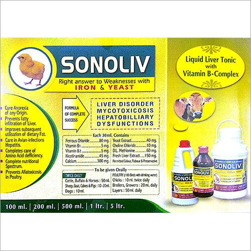 Liquid Liver Tonic with Vitamin B-Complex