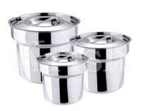Bain Marie Pot With Cover