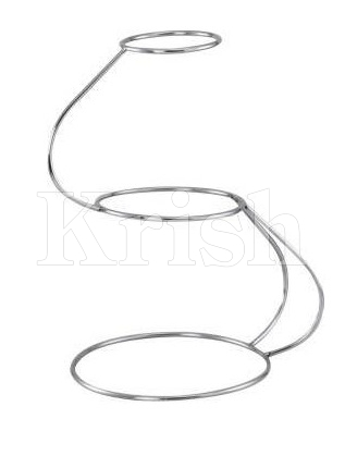 Cake Stand - S Shape for 6/9 & 12 in - 3 Tier