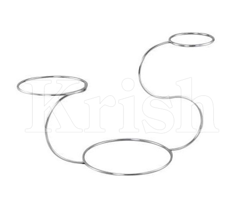 Cake Stand - Swan Shape For 6/9 & 12 in - 3 Tier