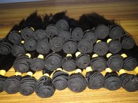 HUMAN HAIR MACHINE DOUBLE WEFT