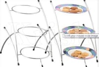 Round Fordable Etegra - 3 Tier
