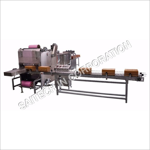 ASW 600R-1000 Tray Per Hour High Speed Shrink Wrapping Machine