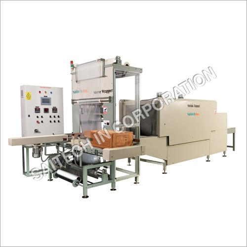 10PPM High Speed Shrink Wrapping Machine