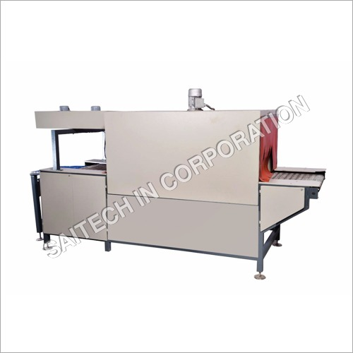 Shrink Tunnel Machine With Wire Mesh Conveyor