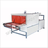 Shrink Tunnel Machine With Roller Conveyor