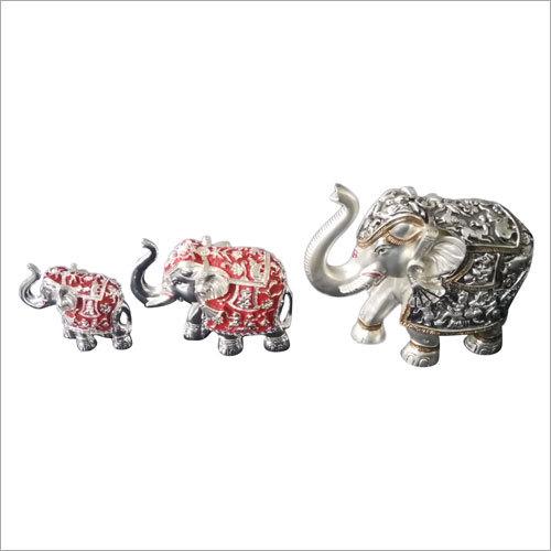 Home Decorative Metal Elephant Statue