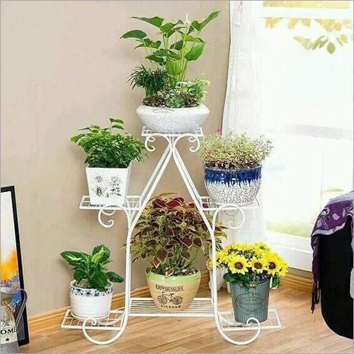 Decorative Metal Flower Pot Stand