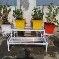 Terrace Metal Flower Pot Stand