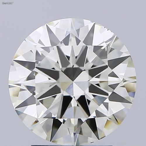 3ct J VS2  CVD Round Brilliant Cut DIAMOND ,Non cert