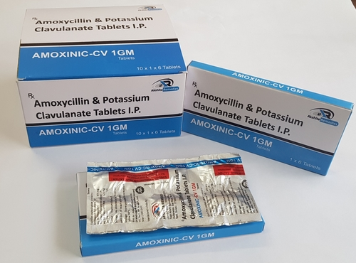 AMOXYCILLIN 875mg + CLAVULANATE 125mg