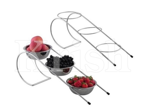 Fruit Bowl Stand - 3 Tier
