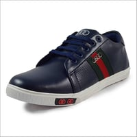 Mens Synthetic Leather Sneaker Shoes