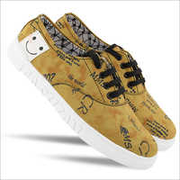 Mens Printed Casual Shoes