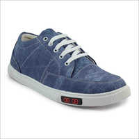 Mens Denim Sneakers Shoes