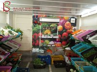 Vegetable Supermarket Rack