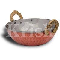 Indian Wok - Copper Hammered