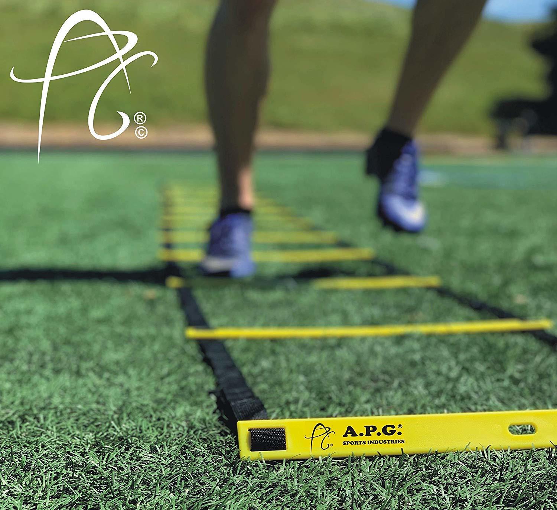 APG Sports 4 Meter Fitness Agility Ladder Training Equipment Set