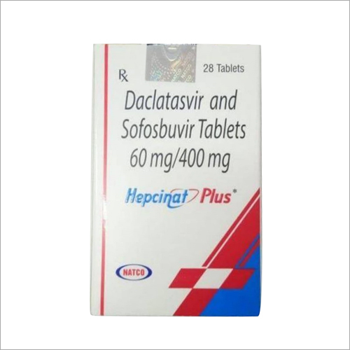 Daclatasvir and Sofosbuvir Tablets