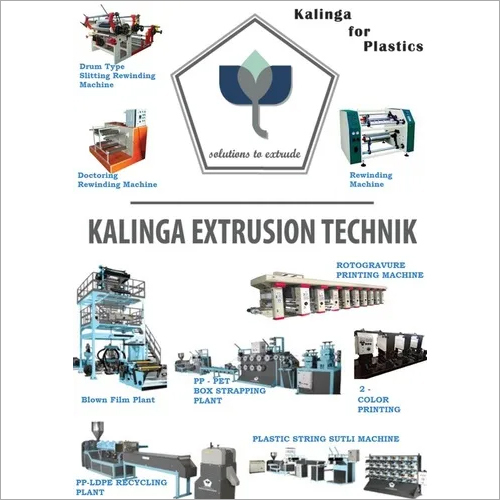 Plastic Processing Machinery Manufacturer and Exporter