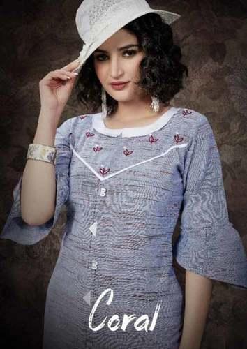 Handloom Cotton Kurti