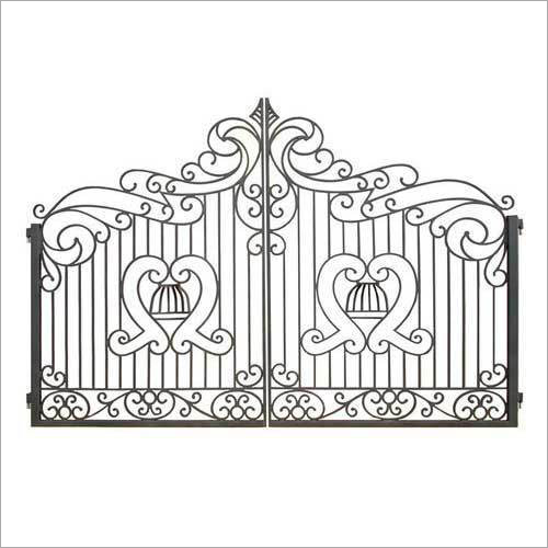 Wrought Iron Main Gate