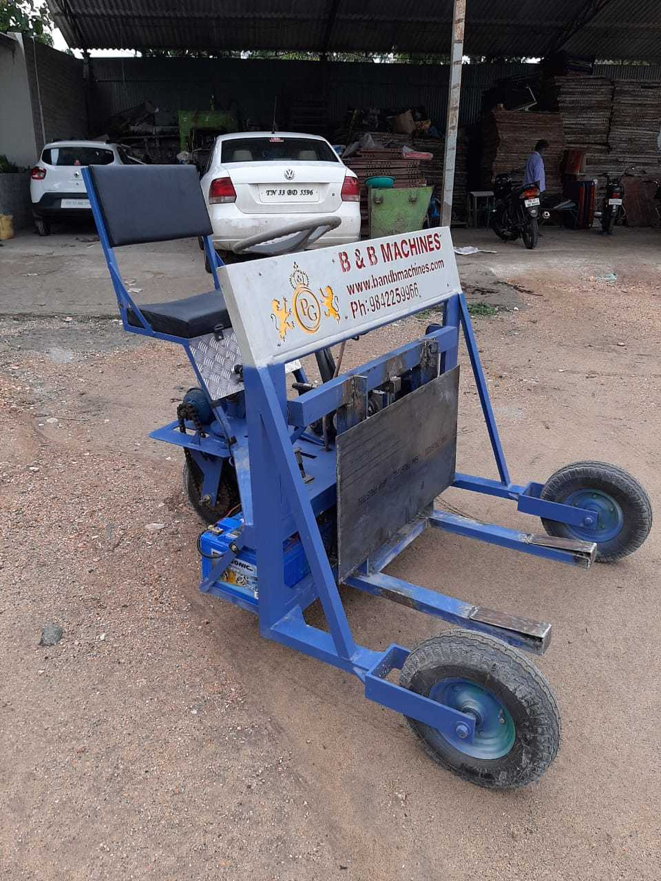 Battery Operated Hydraulic Trolley