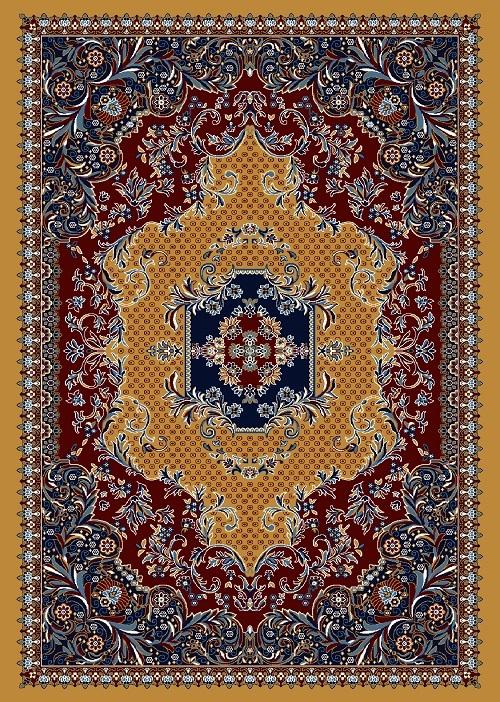 Multi Color Velvet Carpet