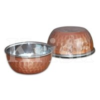 Veg Bowl - Copper Hammered