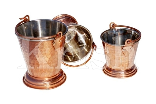 Curry Bucket - Copper Hammered