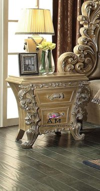 luxury wooden side table