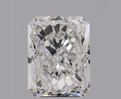 Cvd Diamond 5.10ct G VVS2 Radiant Cut Lab Grown HPHT Loose Stones TCW 1