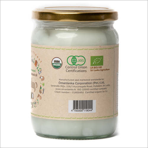 PULUP  500 ml Organic Natural Virgin Coconut Oil