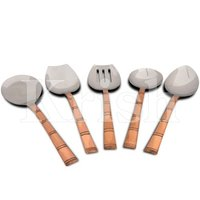 Bambo Kitchen Tools - Copper Hammered