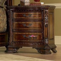 carved wooden chest table