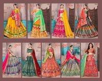 Banarasi Silk Lehengha Choli
