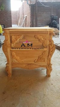 hand made bed side cabinet