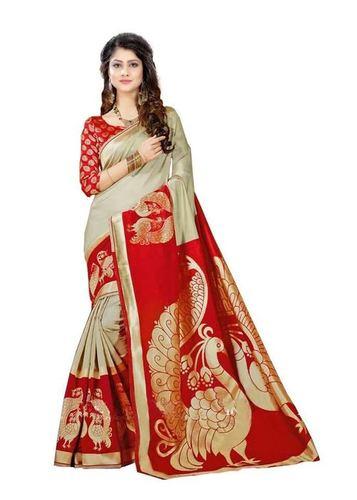 nilkhanth red saree
