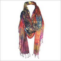 Ladies Die Printed Scarf